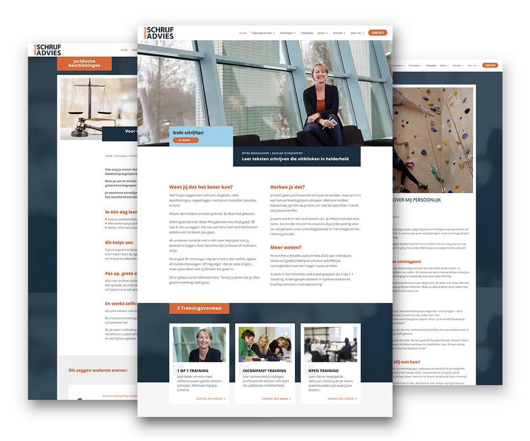 Portfolio Websites Zakelijk Schrijfadvies JeroenWebsitemarketing