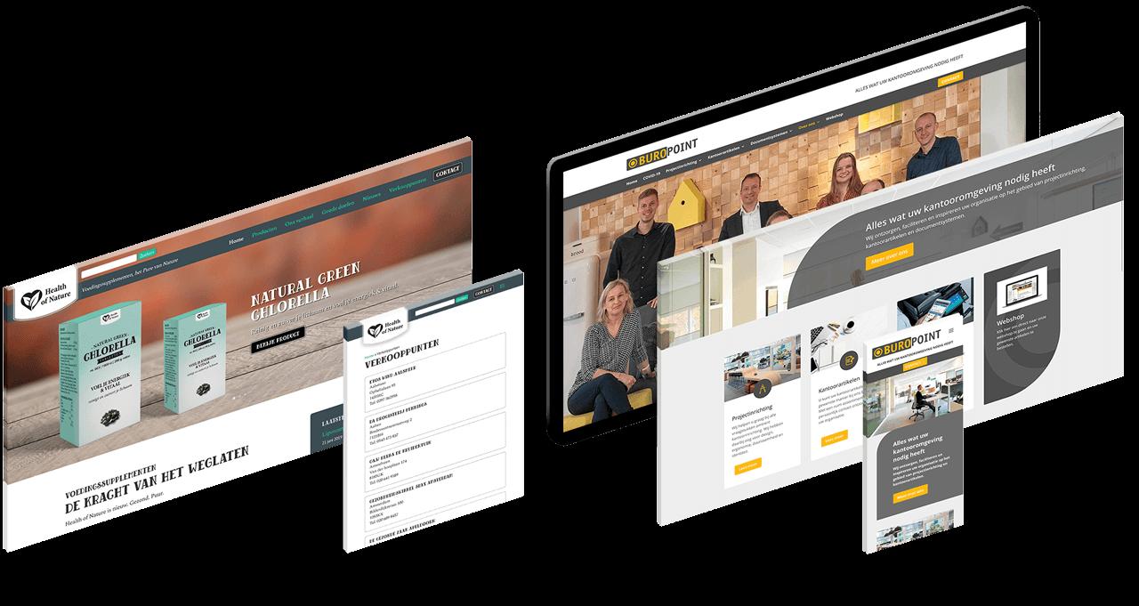 Webdesigner Heerenveen Friesland